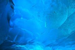 Ghiaccio glaciale Fotografia Stock Libera da Diritti