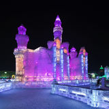 Ghiaccio internazionale e festival della scultura di neve, Harbin, Cina Fotografie Stock