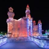 Ghiaccio internazionale e festival della scultura di neve, Harbin, Cina Fotografia Stock Libera da Diritti