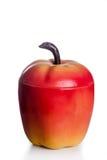 Secchiello del ghiaccio a forma di mela di anni '50 dell'annata Fotografia Stock