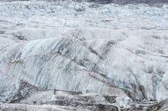 Ghiaccio selvaggio del ghiacciaio di Vatnajokull che trekking Immagini Stock