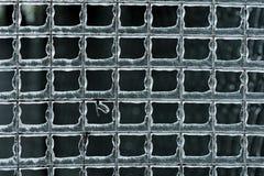 Ghiaccio sul recinto Fotografia Stock Libera da Diritti