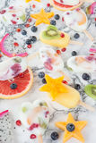 Ghiaccioli congelati casalinghi fotografie stock