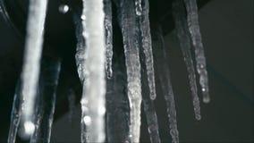 Ghiaccioli di fusione sul sole archivi video