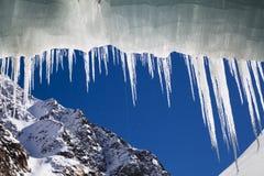 ghiacciolo di inverno Fotografie Stock Libere da Diritti