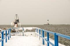 Ghiaccioli un giorno di inverno freddo Fotografia Stock Libera da Diritti