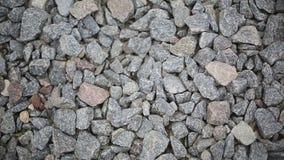 Ghiaia del granito stock footage