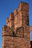 Ghibellinekantelen in Verona royalty-vrije stock afbeeldingen