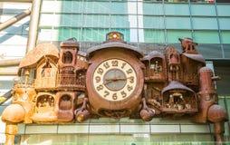 Ghibli clock Shiodome Stock Photography