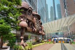 Ghibli Clock in Tokyo Royalty Free Stock Photo