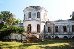 Ghica slott från Caciulati Rumänien Arkivfoton
