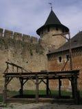 Ghigliottina della fortezza in Hawtin Fotografie Stock