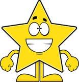Ghignare la stella del fumetto Fotografia Stock Libera da Diritti