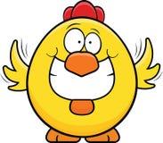 Ghignare pollo giallo Fotografia Stock