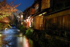 Ghion på natten Arkivbilder