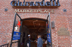 Ghirardelli Chocolate Company San Francisco - Californië Stock Foto