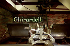 Ghirardelli Chocolate Company San Francisco - Californië Stock Afbeelding