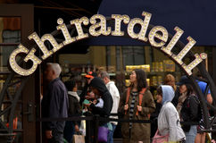 Ghirardelli Chocolate Company San Francisco - California Royalty Free Stock Photo