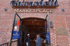 Ghirardelli Chocolate Company San Francisco - California Stock Photo