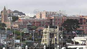 Ghirardelli Chocolate Company Shop at Ghirardelli Square in Fisherman Wharf, San Francisco stock footage