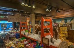 Ghirardelli chocolate shop at Fisherman's Wharf Royalty Free Stock Images