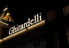 Ghirardelli Chocolate Store Stock Photo
