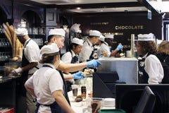 Ghirardelli - manifattura originale del cioccolato Fotografie Stock Libere da Diritti