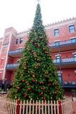 Ghirardelli-Quadrat-Weihnachtsbaum Lizenzfreie Stockfotos