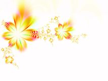 Ghirlanda dei fiori Immagini Stock Libere da Diritti