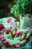 Ghirlanda del fiore Fotografia Stock