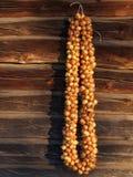 Ghirlanda delle lampadine della cipolla Fotografie Stock