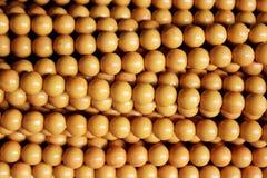 Ghirlanda di legno della perla Fotografia Stock Libera da Diritti