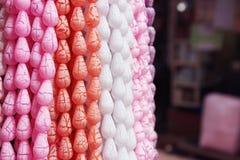Ghirlanda differente della perla di colore Immagini Stock Libere da Diritti