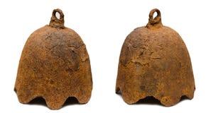 Ghisa asiatico antico del campanello d'allarme Immagini Stock Libere da Diritti