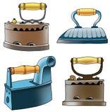 Ghisa rivestente di ferro degli apparecchi del ferro del carbone Immagini Stock Libere da Diritti