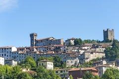 Ghivizzano (Lucca), mittelalterliche Stadt lizenzfreies stockfoto