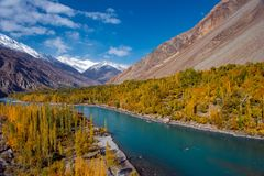 Ghizer Valley. Northern Area Pakistan stock images