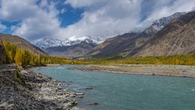 Ghizer Valley. Northern Area Pakistan royalty free stock photo