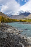 Ghizer Valley. Northern Area Pakistan royalty free stock photography