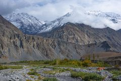 Ghizer Valley. Northern Area Pakistan stock photography