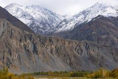 Ghizervallei Noordelijk gebied Pakistan royalty-vrije stock fotografie