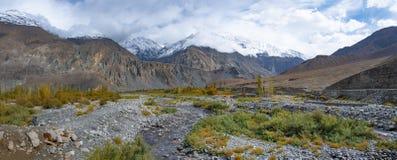 Ghizervallei Noordelijk gebied Pakistan stock foto's