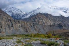 Ghizervallei Noordelijk gebied Pakistan stock fotografie