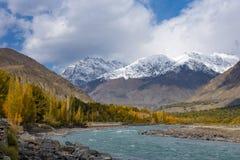 Ghizervallei Noordelijk gebied Pakistan royalty-vrije stock foto's