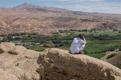 Gholghola di Schahr-e - città delle grida Fotografia Stock