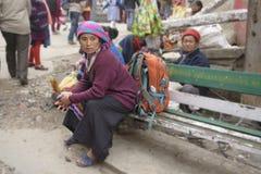 Ghoom驻地是最高的窄片驻地在喜马拉雅山 库存图片