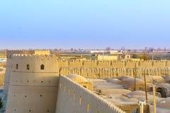 Ghoortan citadel by Varzanheh In Iran Royalty Free Stock Images