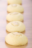 Ghorayeba - βουτύρου μπισκότα με τα αμύγδαλα για Eid EL Fitr Στοκ Φωτογραφία