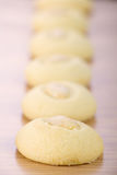 Ghorayeba -  Butter Cookies with almonds for Eid El Fitr Stock Photography