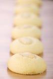 Ghorayeba - galletas de mantequilla con las almendras para Eid El Fitr Fotografía de archivo